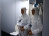 PUCPSat team ready for the clean room