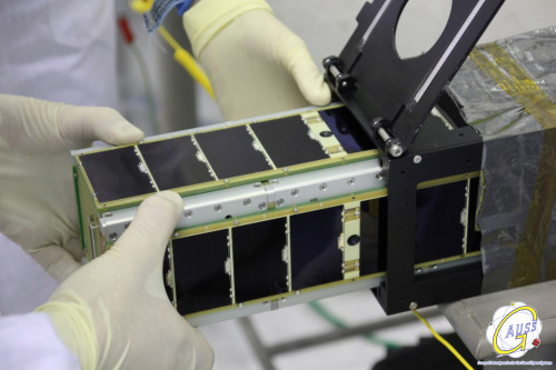 Tigrisat being integrated in UniSat-6