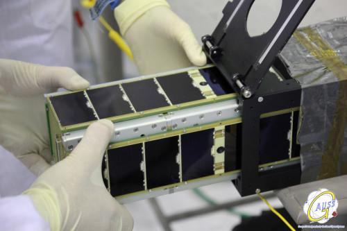 Tigrisat being integrated in UniSat-6