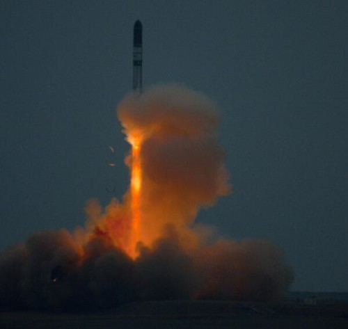 Dnepr rocket launch on the 19th of June 2014