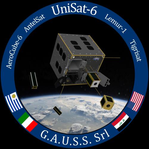 UniSat-6 Mission Logo