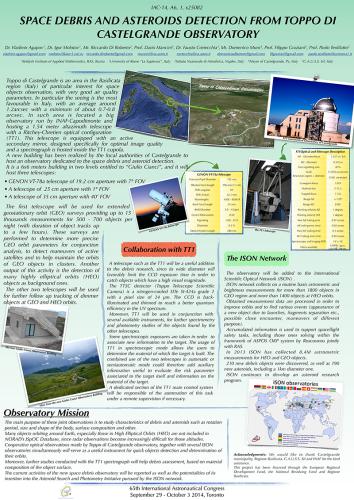 Poster of Castelgrande Observatory Mission