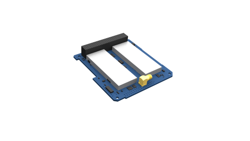 Render of radio component