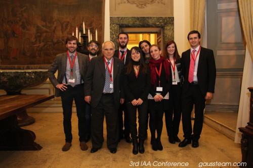 GAUSS team at Palazzo Rospigliosi