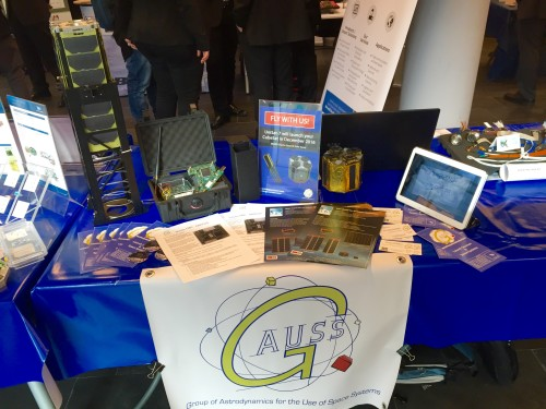 GAUSS stand at the ASI National Components for Space Workshop