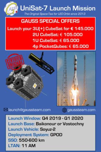 UniSat-7 Promotional Leaflet
