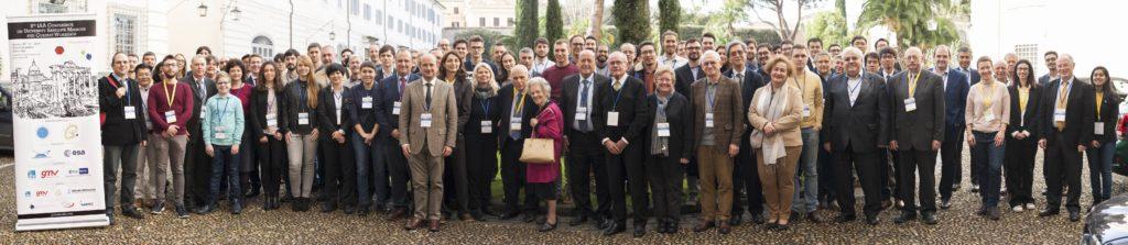 Group photo of 2020 5th IAA Conference on University Satellites & CubeSat Workshop